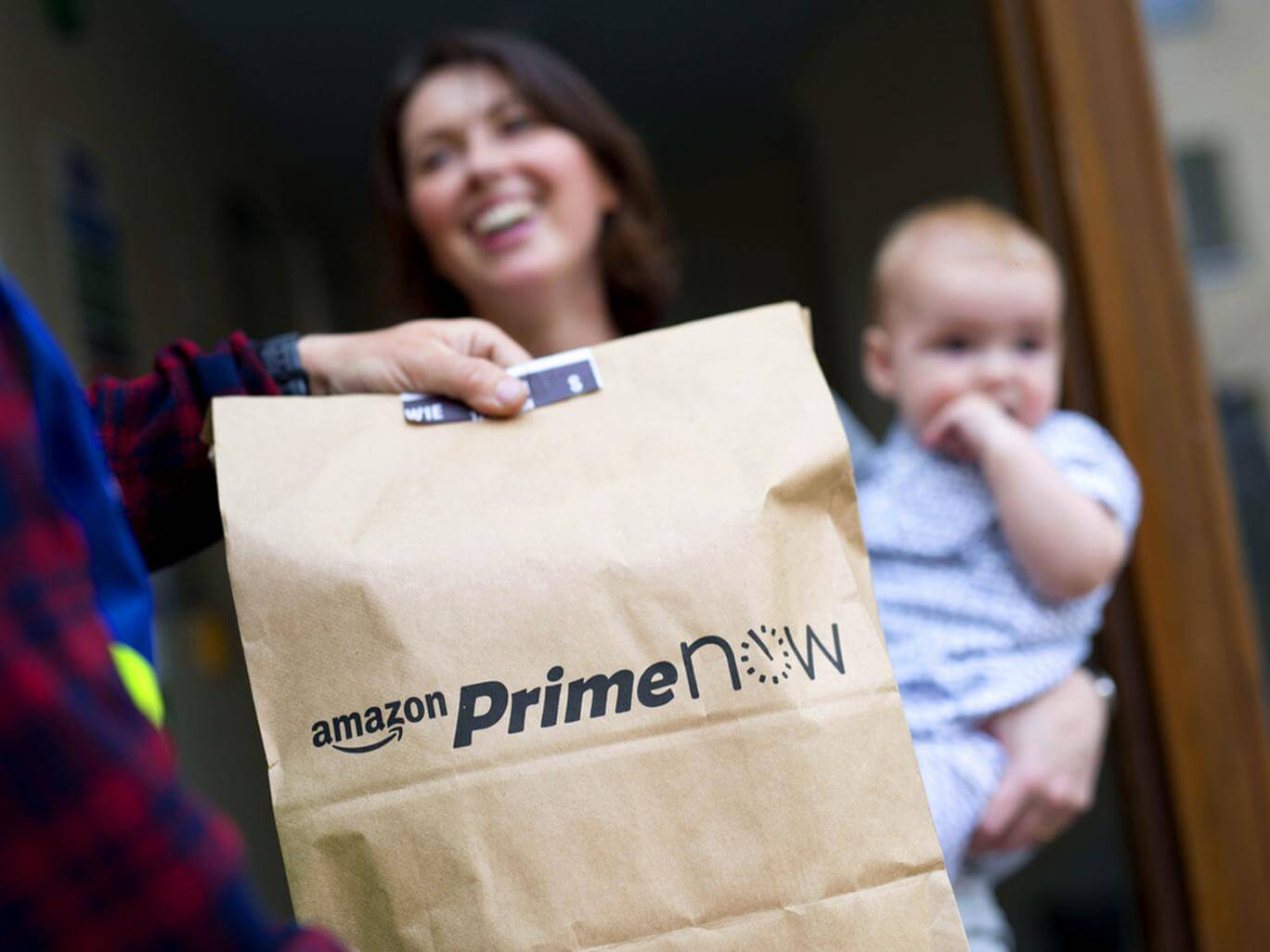 Amazon Prime delivery improves their branding through customer experience.